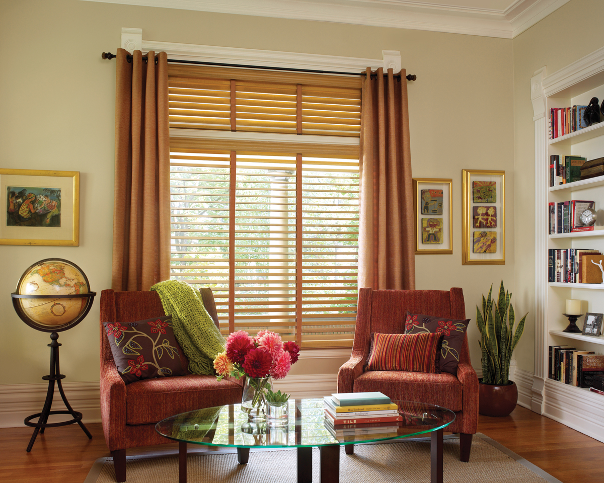 Photo gallery reno window treatment company kempler design for Living room window blinds