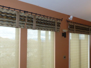 Valance To Cover Roller Shades In Reno Kempler Design