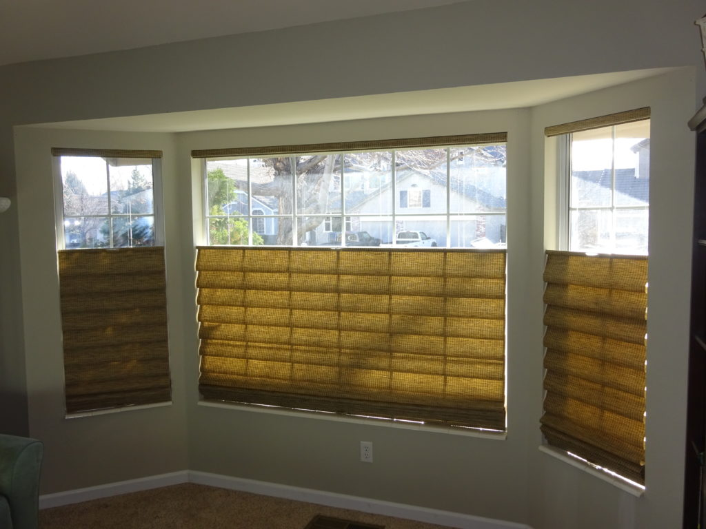 Cordless Top Down Bottom Up Roman Shades In Reno Kempler