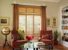 window blinds living room1